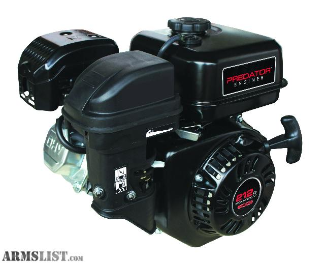 For Trade: PREDATOR 212CC 6.5 HP MOTOR FOR 223 AMMO OR MAGS