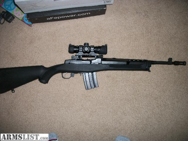 Armslist For Sale Ruger Mini 14 Tactical W Red Dot