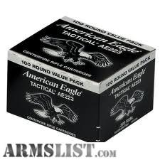 For Sale: 223/556 & 22LR Ammo in Stock