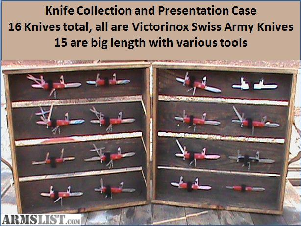 Armslist For Sale Trade Knife Collection Victorinox