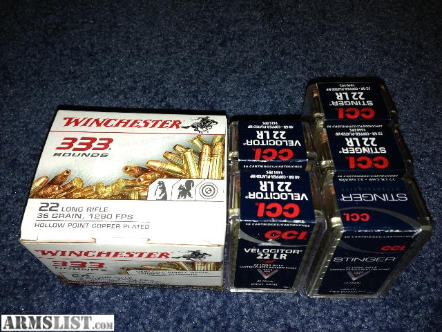 For Sale: .22 LR Ammo For Sale