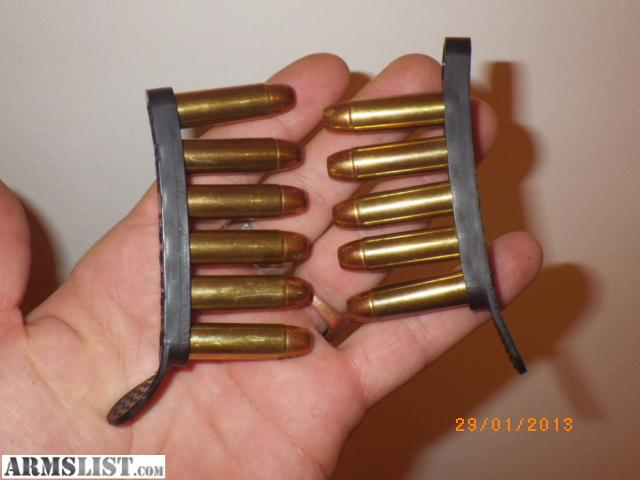 Ammo strip .38 especial