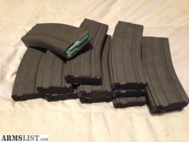 Have several colt 30 rd magazines for sale great conidition like