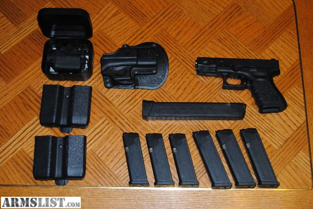 Glock 19 Accessories I am asking 1 000 OBO for this