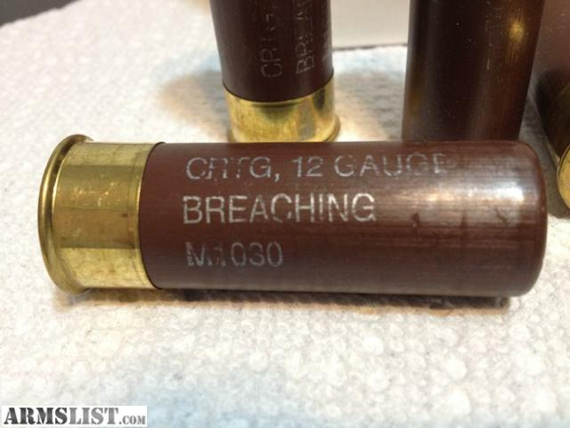Armslist for sale wtt wts military 12 gauge breaching for 12 gauge door breacher