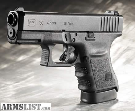 Armslist For Sale Glock 30 Gen 4