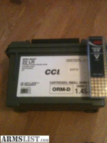 this is the 1600 count cci 22 lr mini mags this is the best 22 shell