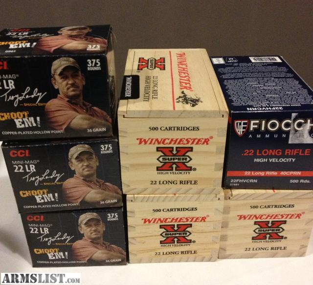 For Sale: 22 LR Ammo for sale 3200 Rounds all new in box