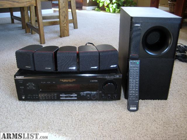 Armslist For Trade Bose Surround Sound System With Sony