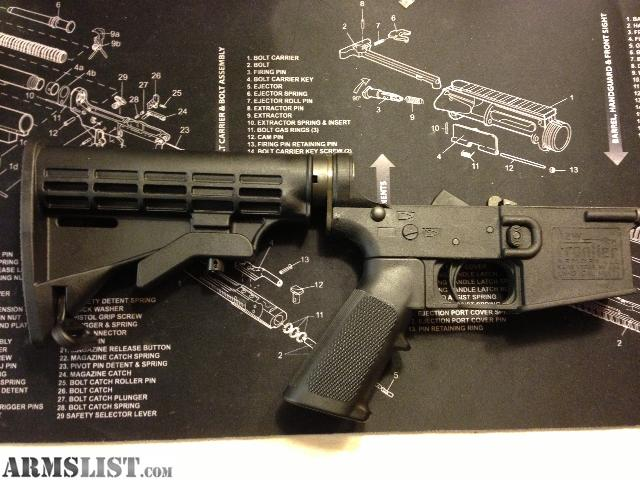 New Frontier Armory LW-15 GENII Complete AR15 Polymer Lower Receiver