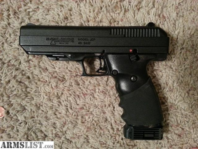 ARMSLIST - For Sale: high point jhp 40