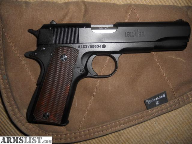 Armslist for sale browning 1911 22