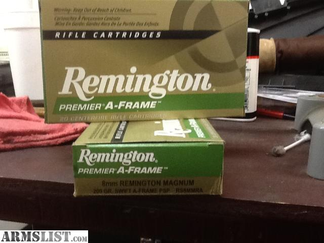 8Mm Remington Magnum for Sale http://www.armslist.com/posts/1043543/arkansas-ammo-for-sale--8mm-remington-magnum