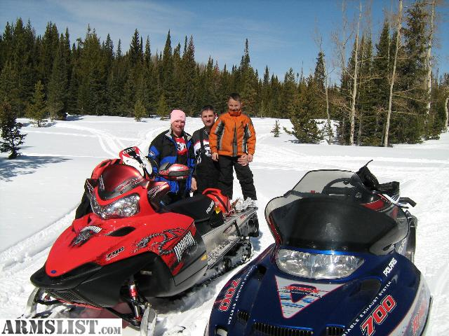 Armslist for sale trade 2003 polaris 700 rmk with for Youtube certified mechanic shirt