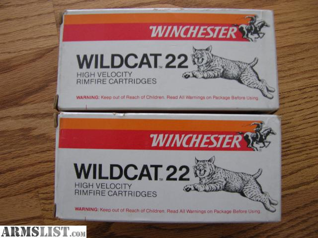 For Sale: Winchester 22lr ammo