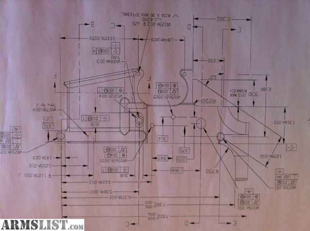 Ar 15 Lower Receiver Blueprint Car Interior Design