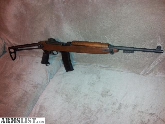 M1 Carbine for Sale http://www.armslist.com/posts/1099854/oklahoma-city-oklahoma-rifles-for-sale--m1-carbine