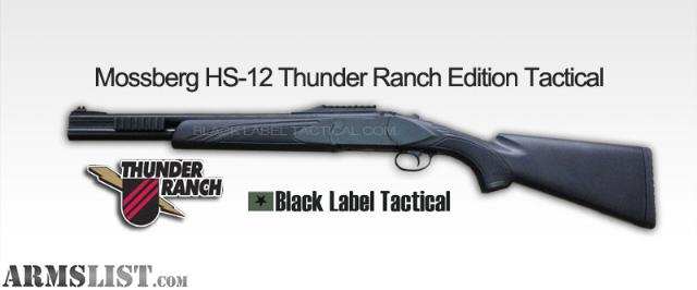 Mossberg Double Barrel Shotguns http://www.armslist.com/posts/1111396/pittsburgh-pennsylvania-shotguns-for-sale--mossberg-hs-12-12ga-thunder-ranch-tactical-shotgun