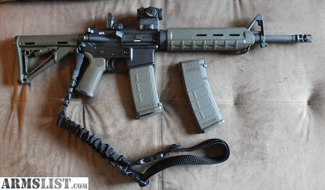 Armslist For Sale Bcm Ar 15 Complete Gun 14 5 Inch