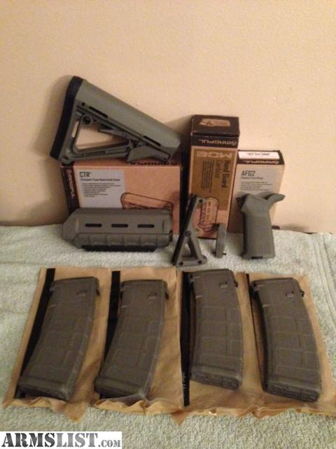 Armslist For Sale Magpul Fol Furniture Set Mags