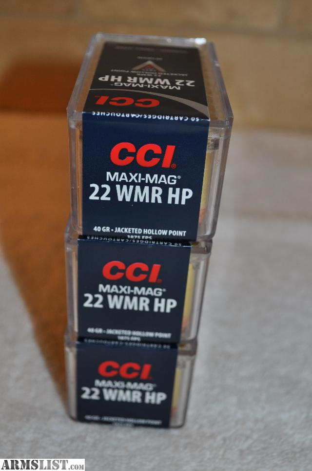 Armslist for sale 22 magnum cci maxi mag ammo best in the world