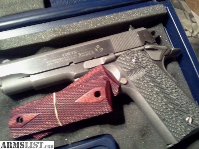 1911 Colt 45 Commander http://www.armslist.com/posts/1144647/knoxville-tennessee-handguns-for-sale-trade--colt-commander-1911--45