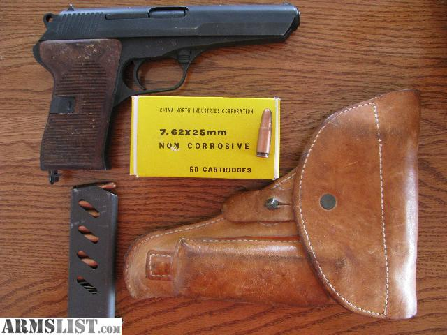 7_62 X 25 http://www.armslist.com/posts/1166514/kansas-handguns-for-trade--cz52-7-62-x-25-semi-auto