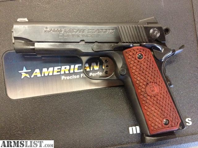 For sale metro arms american classic 1911 commander 45acp new