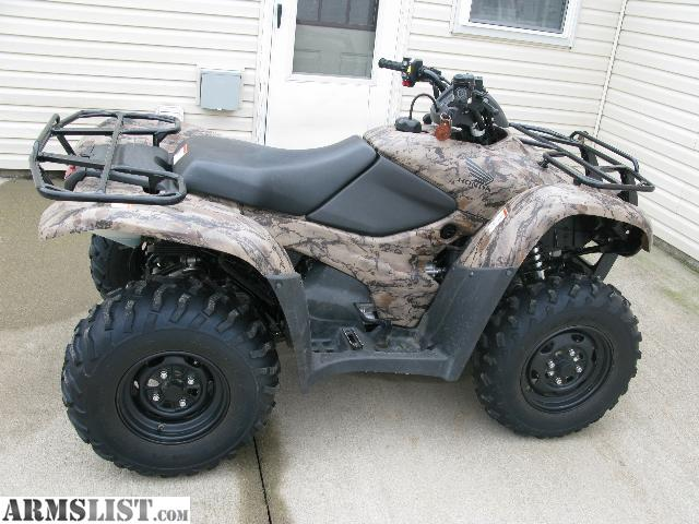 Armslist for sale 2010 honda rancher 420 at 4x4 for Honda 420 rancher for sale