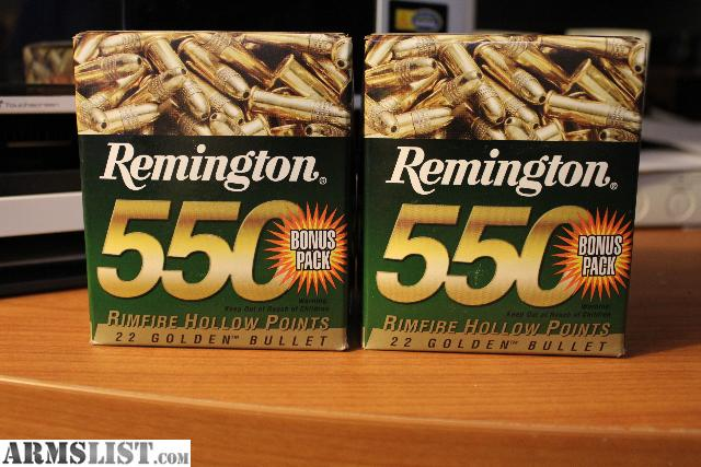 have some Remington .22lr ammo for sale for $60.00 each. See