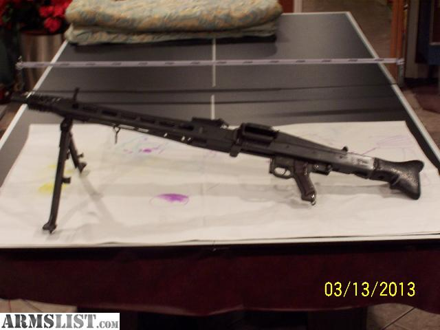 Yugo M53 Semi Auto http://www.armslist.com/posts/1245306/cincinnati-ohio-rifles-for-sale--yugo-m53--mg42--semi-auto-308-8mm-with-tripod--2-barrel-sets--