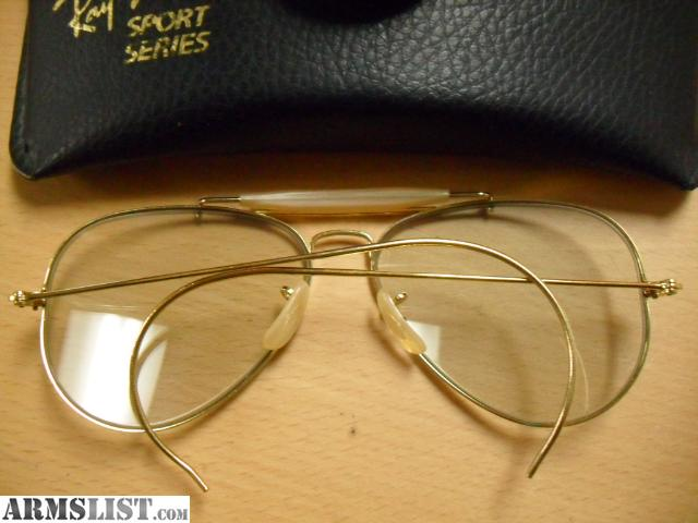 ARMSLIST - For Sale : Ray - Ban Shooters Glasses