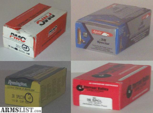 For Sale: 38 Special Ammo For Sale ** Reduced Price **