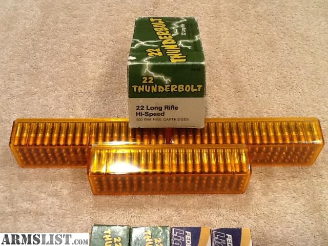 For Sale: 1000 Rounds .22LR Ammo