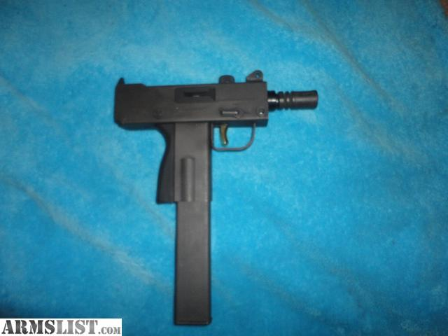 ARMSLIST - For Sale: Masterpiece Mini Mac 10 9mm