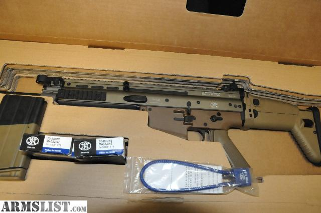 Armslist for sale fn scar 17s fde w 3 mags