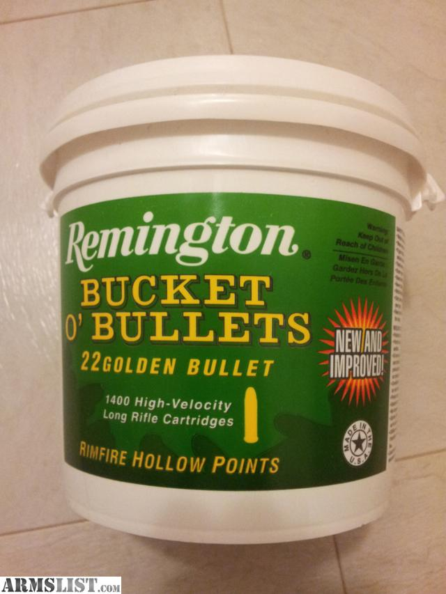 For Sale: 22LR 1400 Rounds rds of Remington 22 Golden Bullets - In