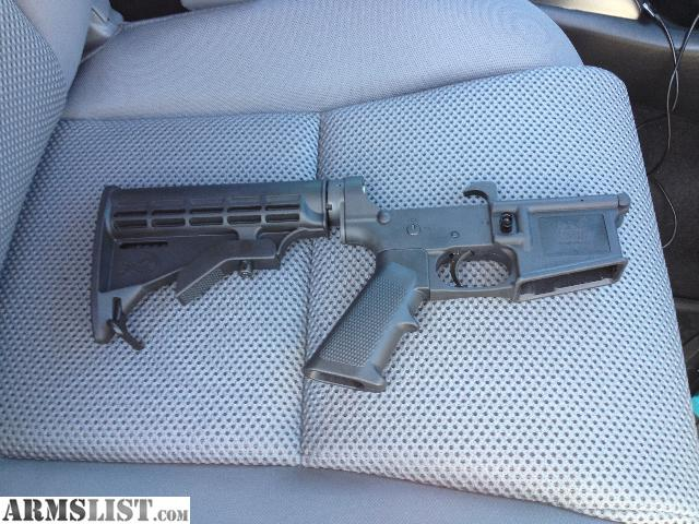 have an FMK lower receiver, their lifetime warranty Polymer. It also