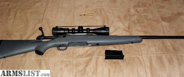 For sale trade new never fired remington 270 bolt action w new vortex