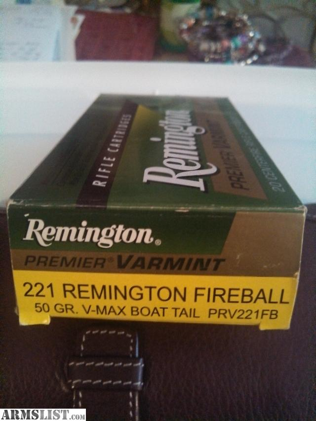 ARMSLIST For Sale 221 Remington Fireball Ammo