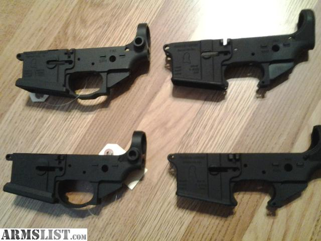 Billet Lower Receiver With Forged Upper 1 Billet Lower 2 Forged