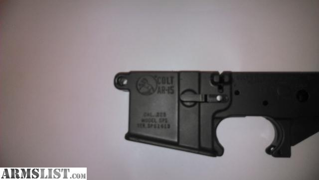 Colt Ar-15 Lower Receiver Related Keywords & Suggestions