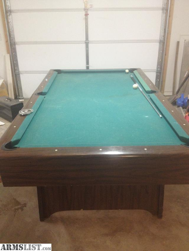 armslist for sale 1 piece slate pool table for ar or