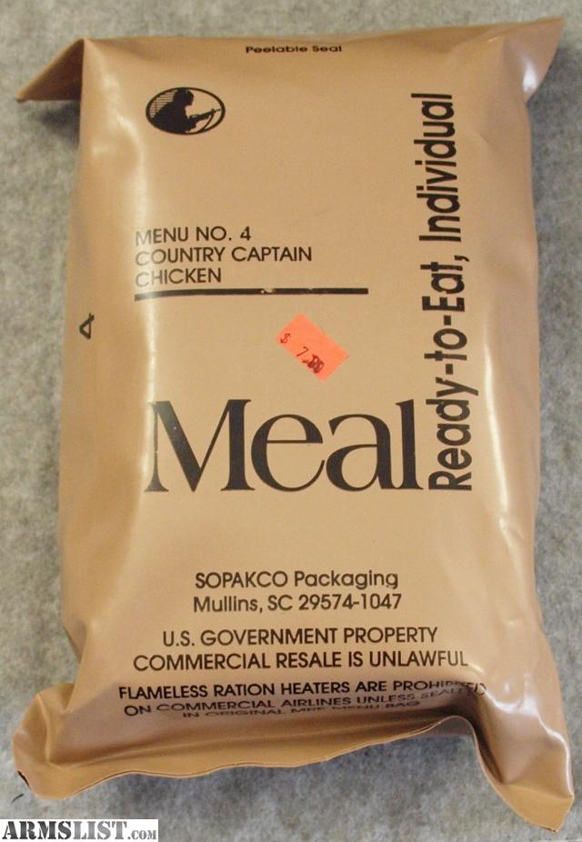 the meal ready to eat essay Bruso, jessica the disadvantages of prepackaged food healthy eating | sf gate the disadvantages of prepackaged food accessed april 21.