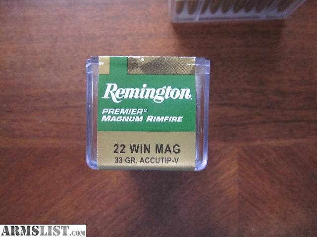 Armslist for sale remington 22 win mag ammo 150 rds