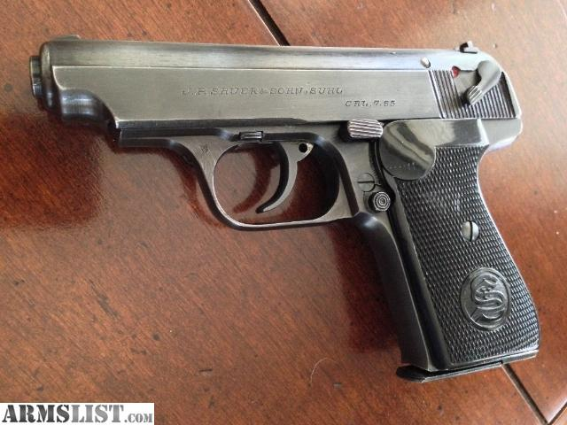 Sauer 38H for Sale http://www.armslist.com/posts/1361500/kansas-city-kansas-antiques-for-sale--sauer-38h-w--holster---army-acceptance---german-bring-back---collector-grade