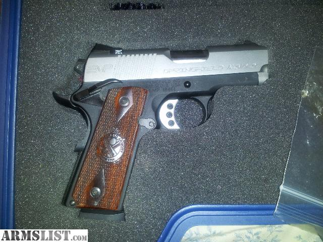 For Sale: Springfield EMP 9mm