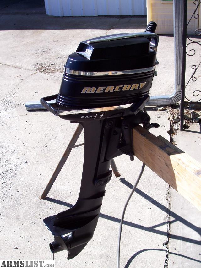 Armslist For Sale Will Trade Nice 6 Hp Mercury Outboard