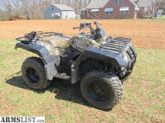 Armslist for sale 2001 yamaha grizzly 600 camo only for Yamaha grizzly 600