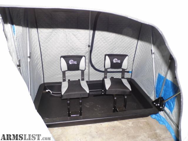 Armslist for sale trade clam 2 person shelter thermal for Ice fishing shelters for sale